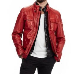 Leather Stirrup Pants for Men